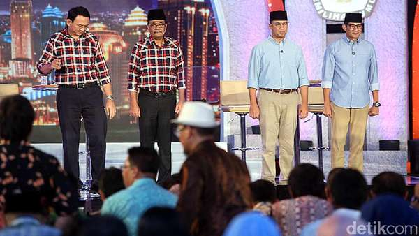 Quick Count Final LSI: Anies-Sandi Ungguli Ahok-Djarot