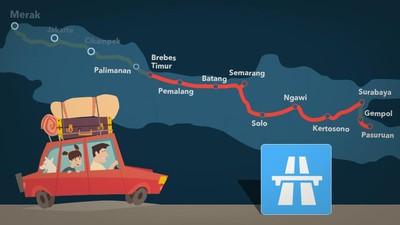 Mudik Merak-Semarang Bisa Lewat Tol