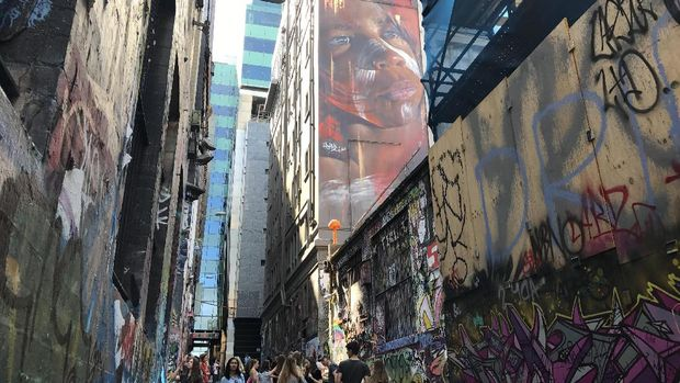 Lokasinya di Melbourne CBD (istimewa/Kautsar Rayzaman Wiharto)