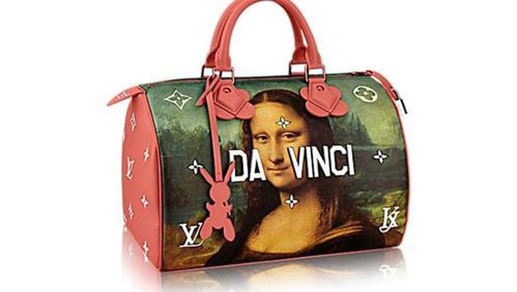 Louis Vuitton Gandeng Seniman Rilis Tas Gambar Mona Lisa
