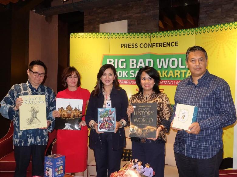 Hadir 24 Jam Non Stop, Big Bad Wolf Jakarta 2017 Jual 5 Juta Buku