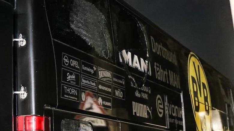 Jerman Selidiki Kaitan Ekstremis dalam - Berlin Kepolisian Jerman menyelidiki kemungkinan terkaitnya ekstremis Islamis dalam pengeboman bus yang membawa para pemain klub Borussia seperti