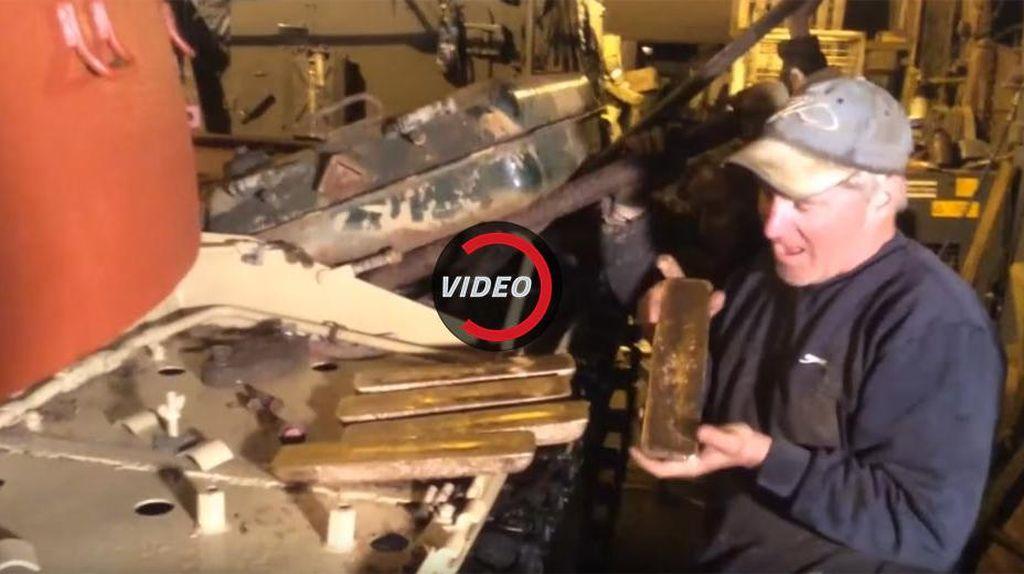 Mekanik Inggris Temukan 5 Batang Emas di Tank Bekas Tentara Irak