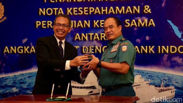 TNI AL Bantu BI Salurkan Rupiah ke Daerah Terpencil
