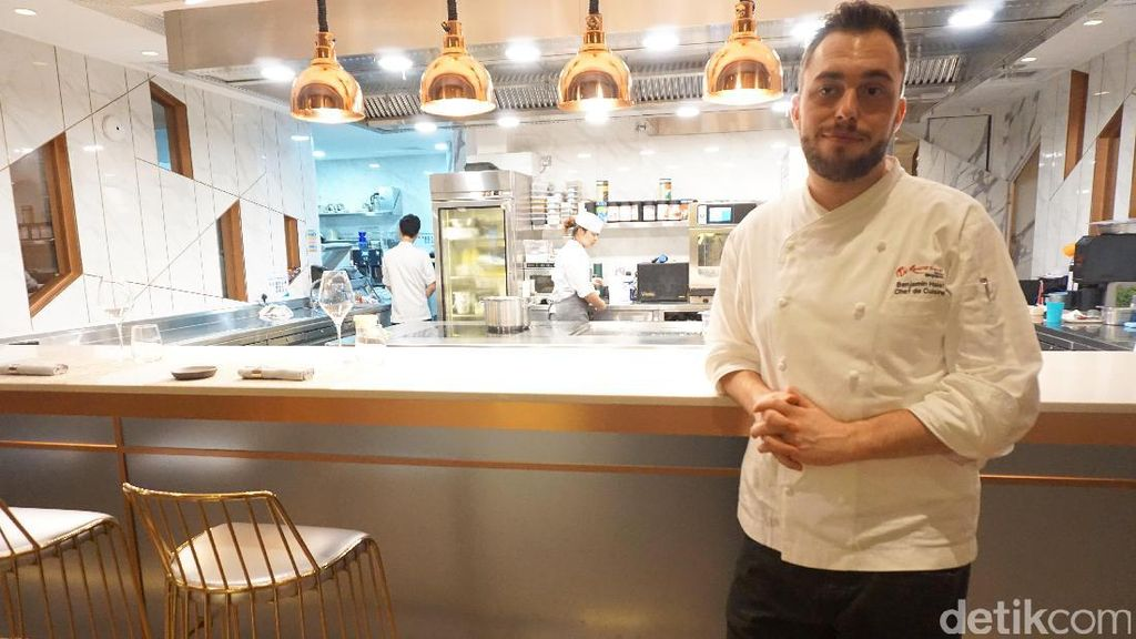 Sajian Klasik Modern Khas Chef Benjamin Halat Bisa Dicicipi di CURATE