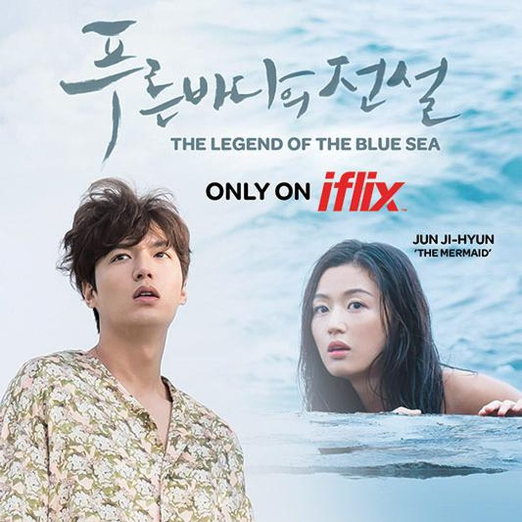Drama The Legend of the Blue Sea Hadir di iflix
