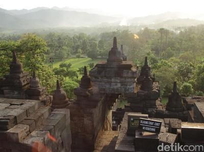 Borobudur, Candi Terbesar di Dunia