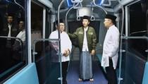 Jokowi Tinjau Purwarupa Metro Kapsul di Bandung