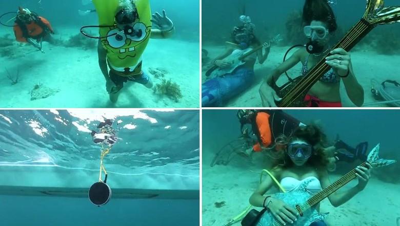 Foto: Festival musik bawah laut (Florida Keys News Bureau)