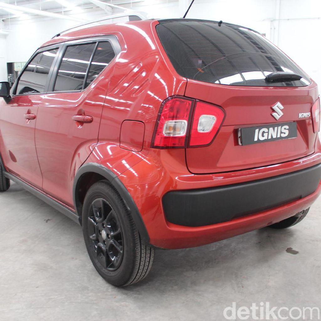 Intip Fitur Suzuki Ignis, Mobil Kecil Konsumsi BBM 23,44 Km/Liter