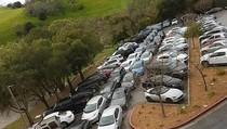 Parkir Karyawan Amburadul Berujung Curhat di Instagram