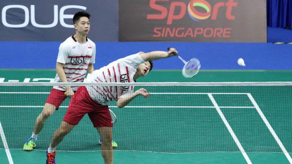 Ditarget Juara Indonesia Open, Kevin: Yang Penting Usaha Maksimal