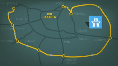 Urai Kemacetan Jakarta, JORR 2 Dikebut