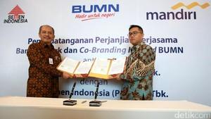 Semen Indonesia Gandeng Bank Mandiri