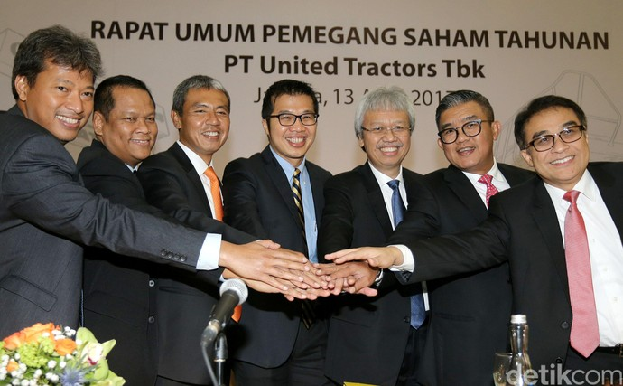 United Tractors Bagikan Dividen Rp 2T