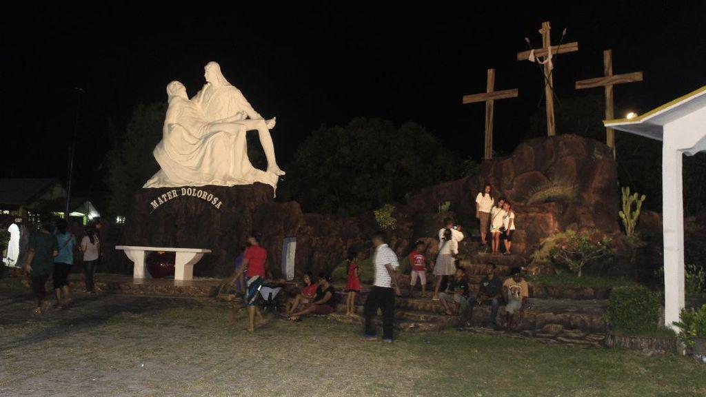 Jelang Semana Santa Saat Paskah, 5 Ribu Peziarah Kunjungi Larantuka