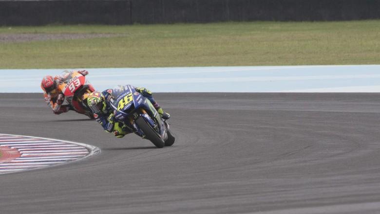 Marquez Ditanya soal MotoGP Saat Rossi Sudah Pensiun Nanti