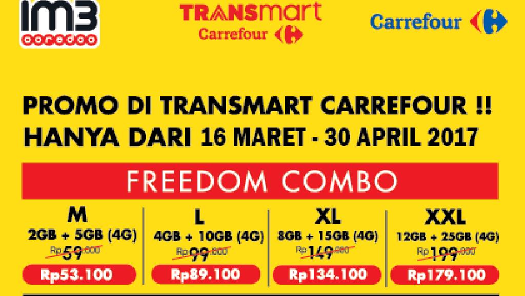 Promo Pulsa dari XL dan im3 Ooredoo di TransHello Transmart