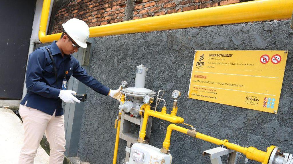 PGN Bangun 10.321 Sambungan Gas Rumah Tangga di Bandar Lampung