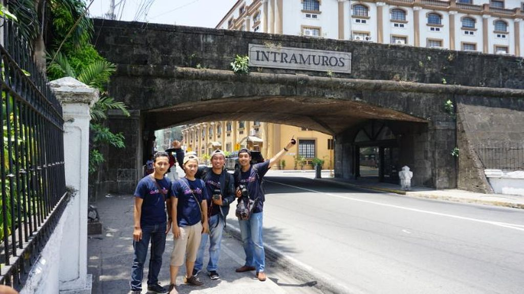 Saat dTraveler of The Year 2016 Terkesima Kota Tua Intramuros