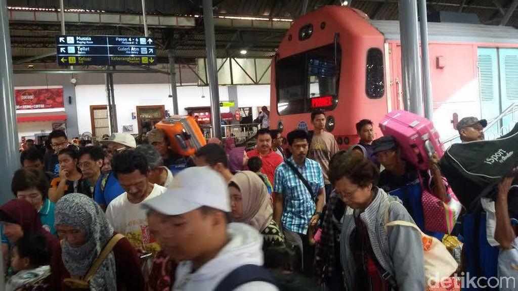 Long Weekend, Jumlah Penumpang Kereta Api Tiba di Yogya Naik 20%