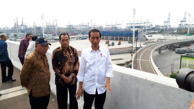Jokowi: Seminggu Lagi Kapal Besar Datang ke Priok, Ini Cita-cita Puluhan Tahun