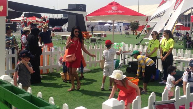 GP Bahrain: Festival di Akhir Pekan untuk Keluarga