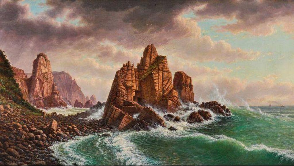 Hilang 150 Tahun, Lukisan Seniman Australia Ditemukan Kembali