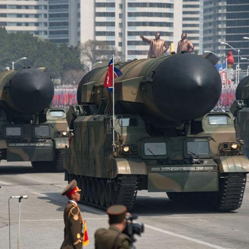 China Serukan Dialog Usai Peluncuran Rudal Balistik Korut