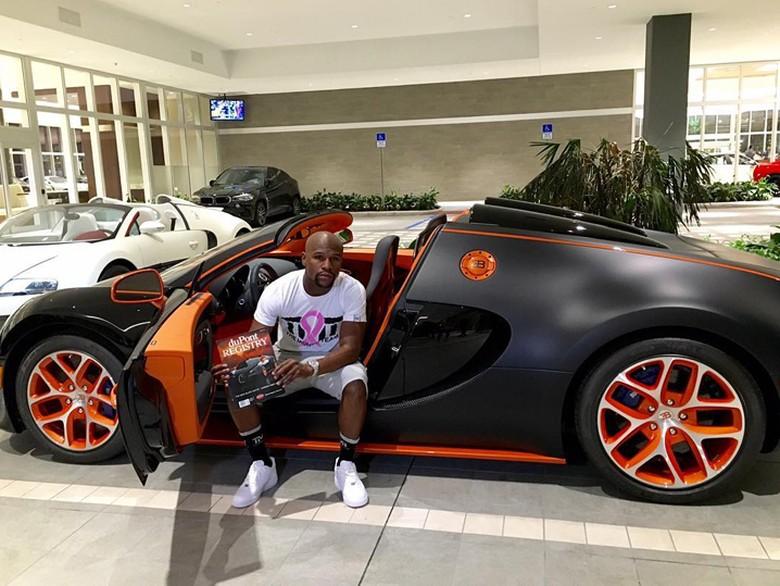 Bugatti Milik Floyd Mayweather Dijual Rp 52,4 Miliar