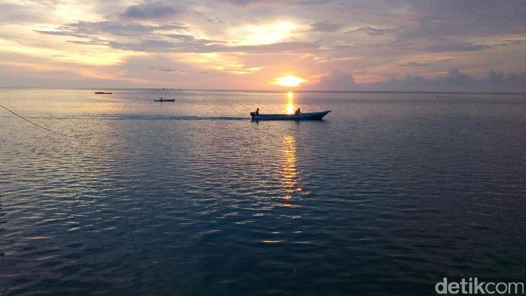 Sunset Wakatobi Mencuri Hati