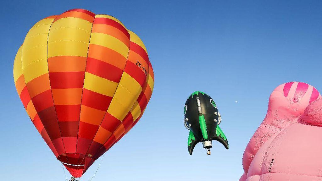 Kemeriahan Festival Balon Raksasa di Selandia Baru