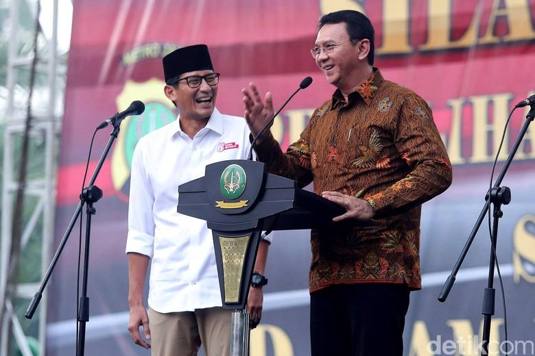 Tepis Politik Sembako: Ahok Tak Suka, Sandiaga Nggak Punya Dana