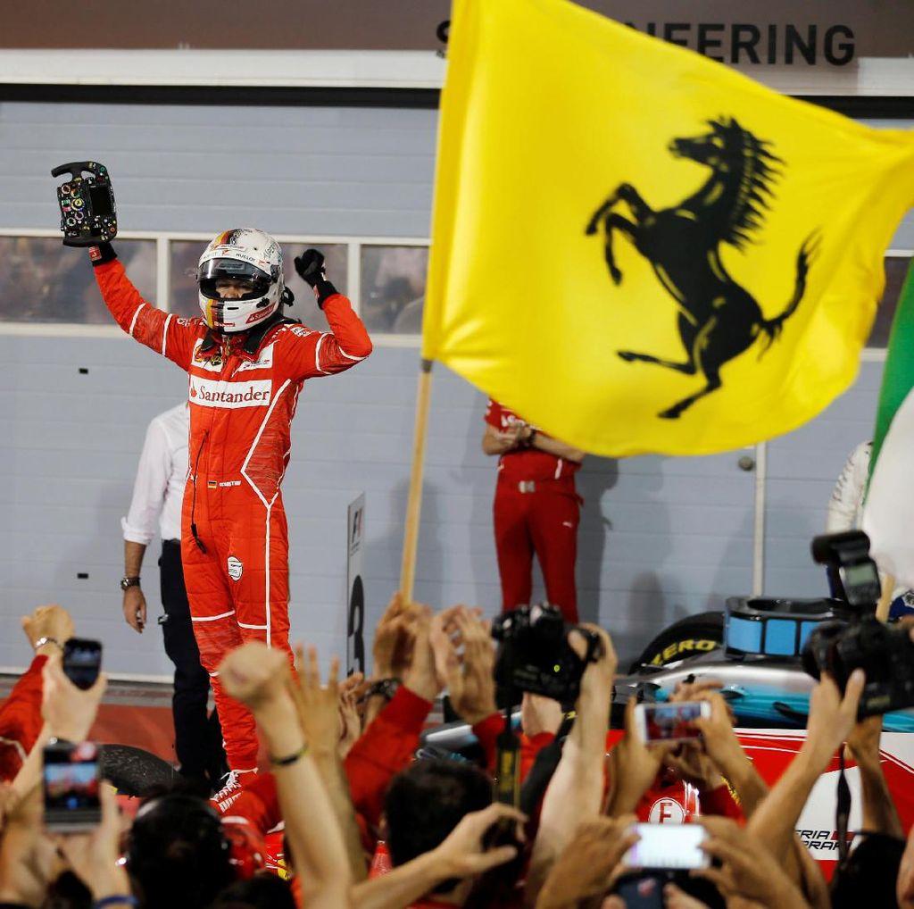 Mobil Impian yang Mengantar Vettel Menang di Bahrain