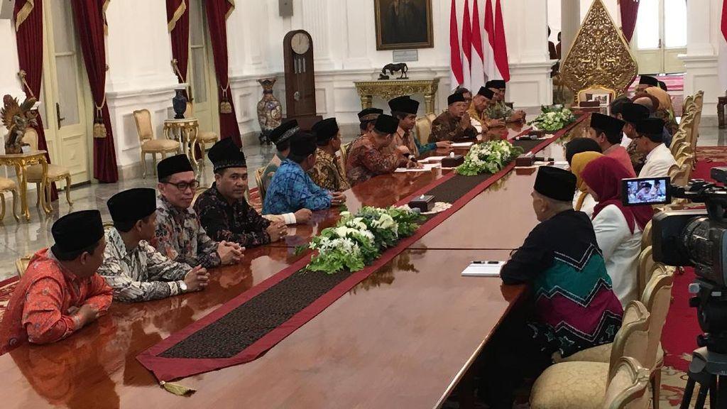 Jokowi Bertemu dengan Perwakilan Mubalig se-Indonesia