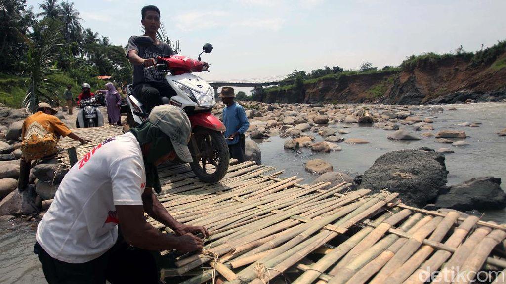 Jembatan Darurat Cipamingkis