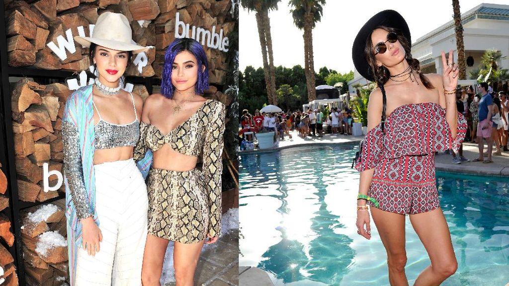 Busana Puluhan Juta Rupiah yang Dipakai Selebriti di Coachella
