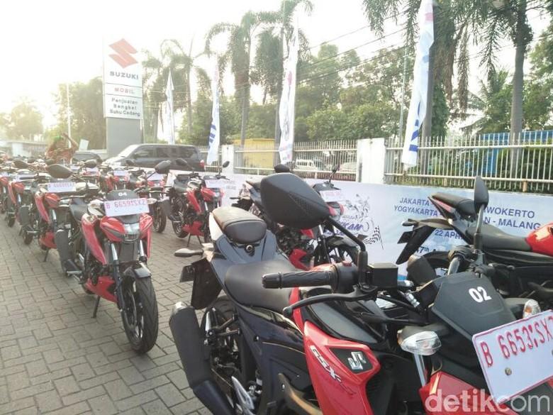 Motor Sport 150 cc Dites Keliling Pulau Jawa