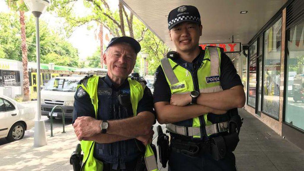 Kala Imigran China Mantap Berkarir sebagai Polisi di Melbourne
