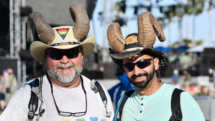 Gaya Maksimal Para Penonton Coachella 2017