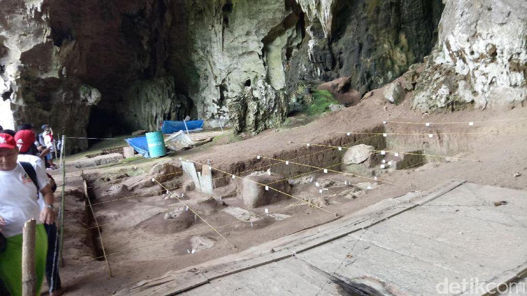 Ini Gua Bekas Tempat Tinggal Manusia Purba di Sumatera Selatan