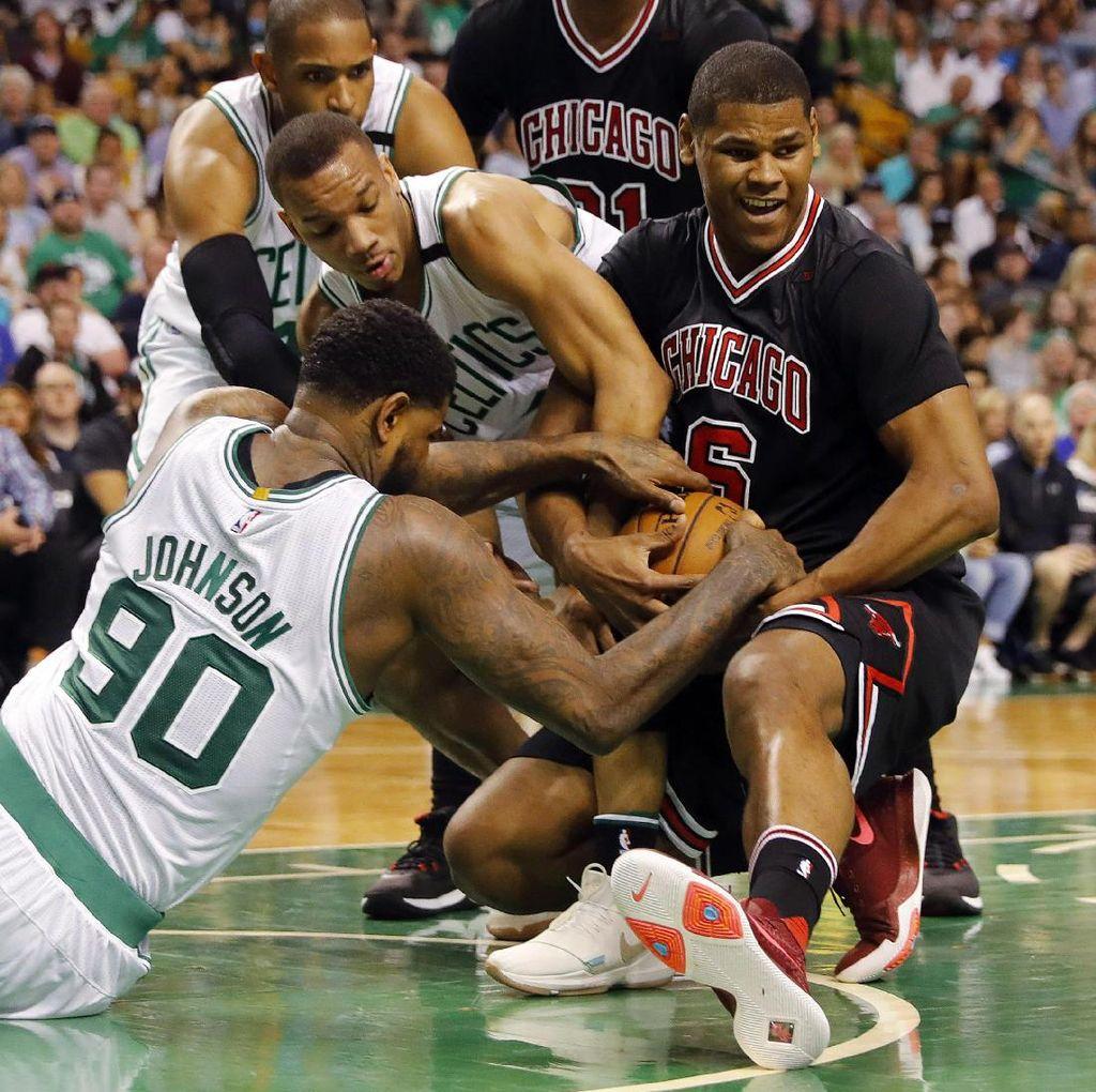 Celtics Kalah dari Bulls, Warriors Atasi Blazers