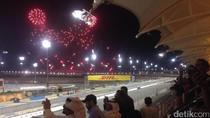 Kemenangan Vettel pada Pesta yang Sepi di Sakhir