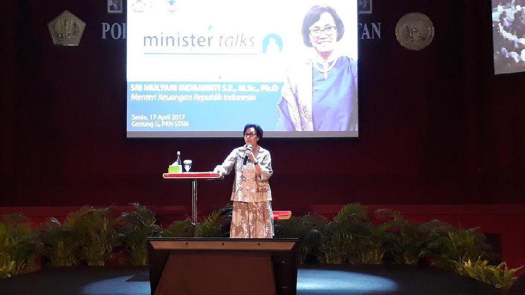 Sri Mulyani Tantang Mahasiswa STAN yang Mau Demo Soal Listrik dan BBM