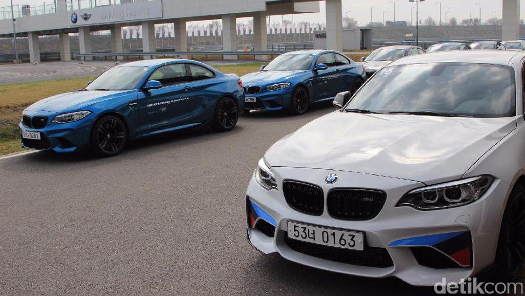 Jalan-jalan di BMW Driving Center Korea