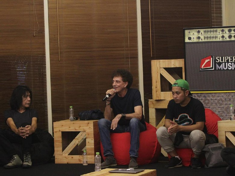 8 Peserta Rockin Battle 2017 Jalani Bandcamp Bersama Musisi Senior