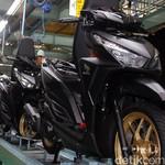Bling-bling, Ada Sentuhan Emas di Pelek Honda Vario