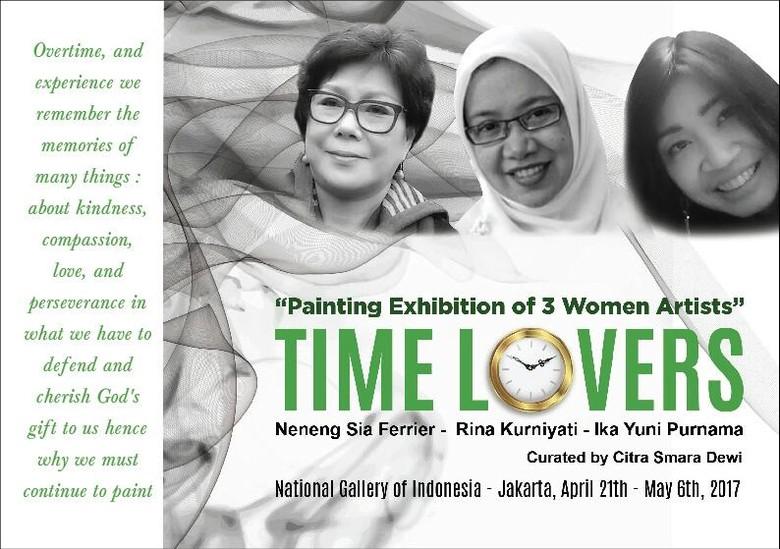 Rayakan Hari Kartini, Tiga Perupa Perempuan Gelar Pameran di Jakarta