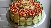 Gurihnya! Kue Ulang Tahun Ini Dibuat dari Nasi Lemak