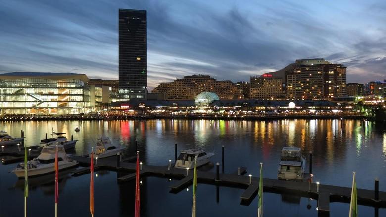 Kawasan Darling Harbour di Sydney yang cantik (Fitraya/detikTravel)